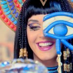 "Screen shot from Katy Perry's ""Dark Horse"""