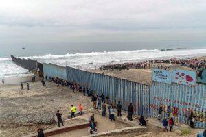 People protest against U.S. immigration