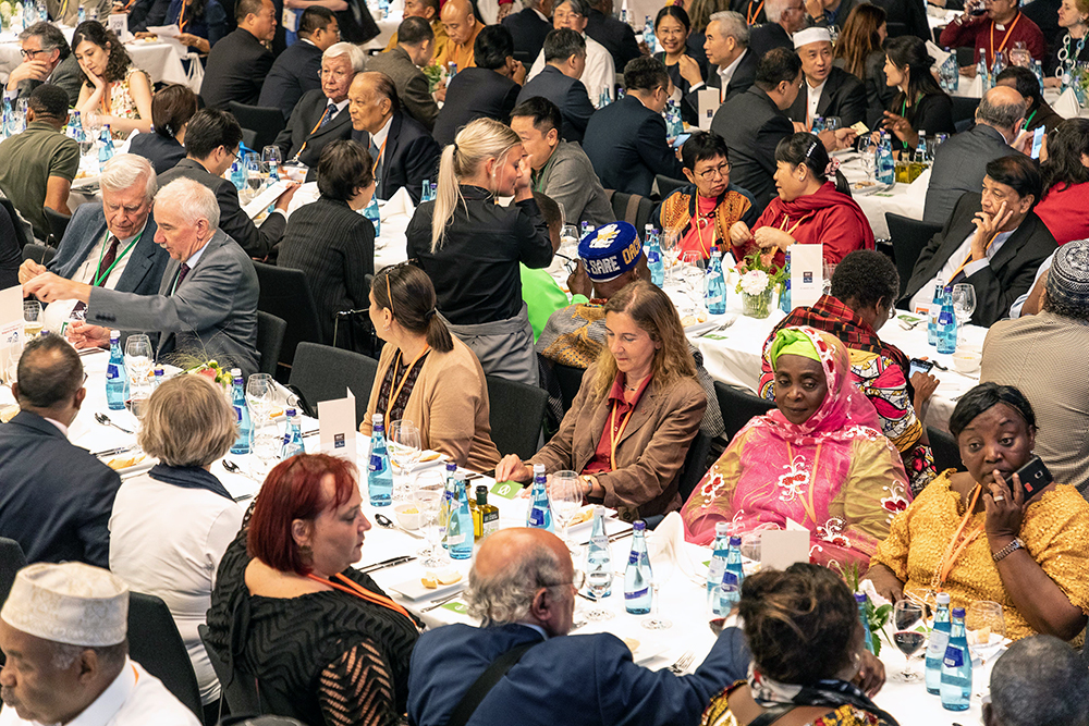 Opening Banquet of the Religions for Peace