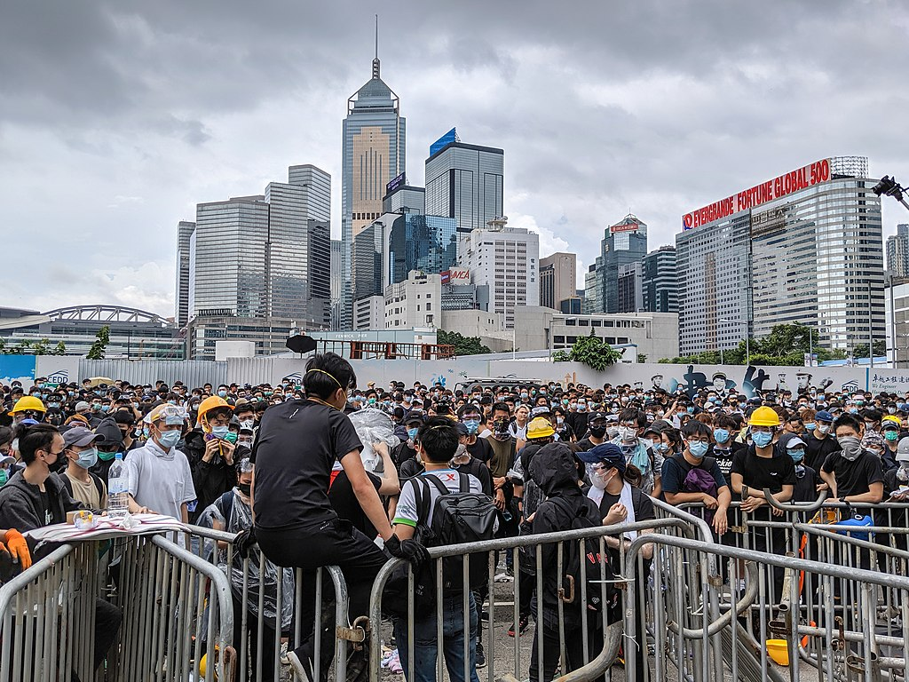 Hong Kong anti-extradition bill protest