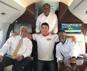 John Schnatter, Ray Belton, Samuel Tolbert, and Kevin Cosby