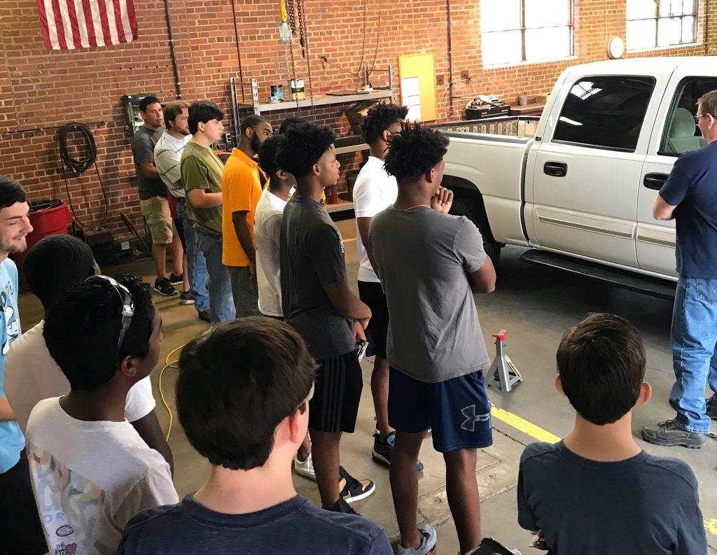 auto maintenance class