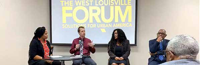 West Louisville Forum participants