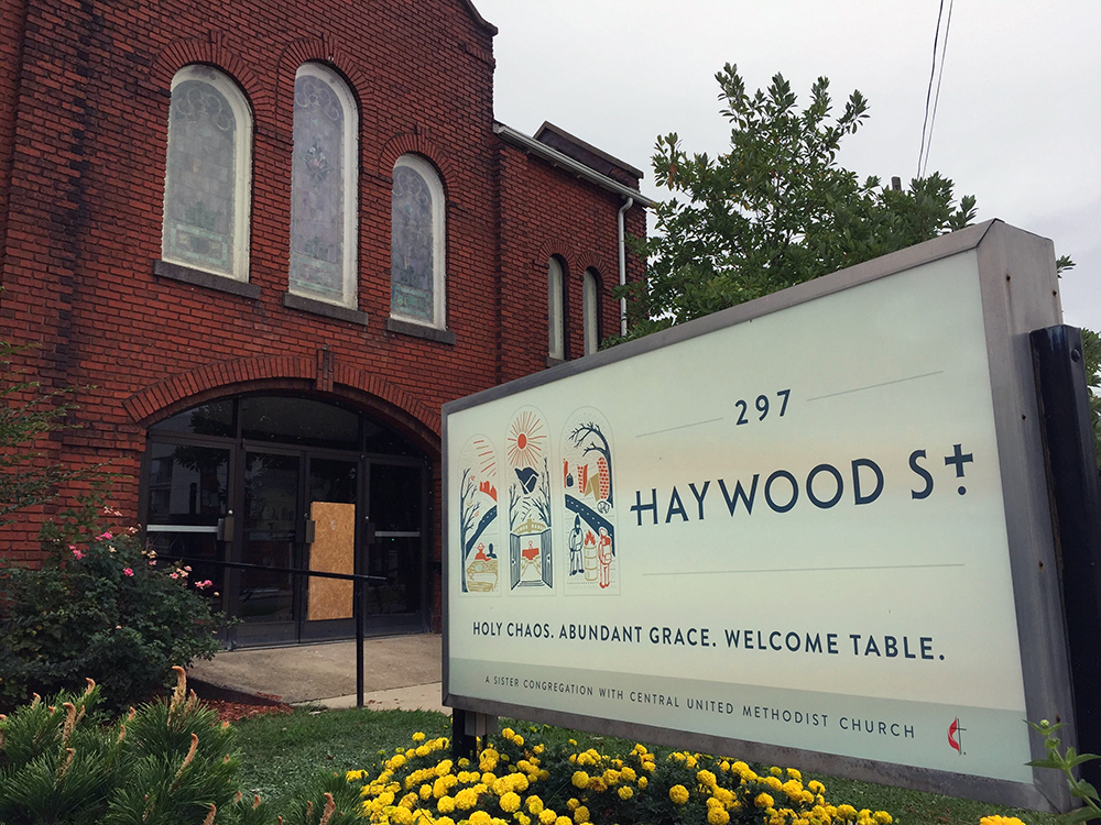 Haywood Street Church in Asheville, N.C.