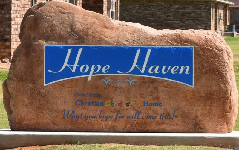 Hope Haven sign