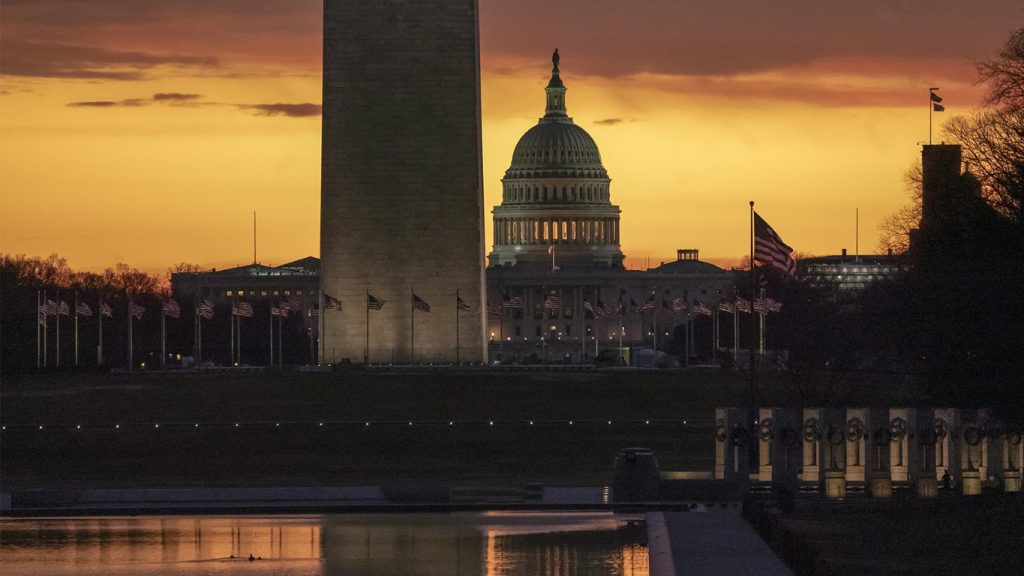 Capitol and Washington Monument