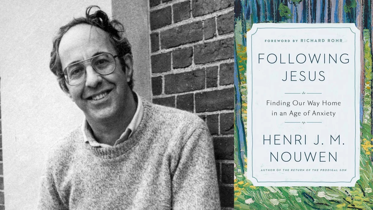 Henri Nouwen and book cover