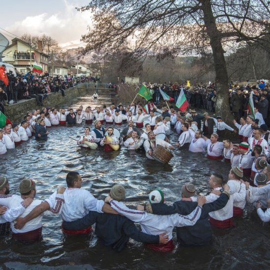 Bulgarians at Epiphany