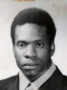 Clarence Thomas's yearbook picture
