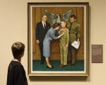 Boy Scout-themed Norman Rockwell painting