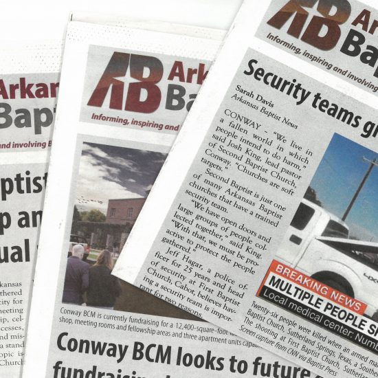 Arkansas Baptist newspapers