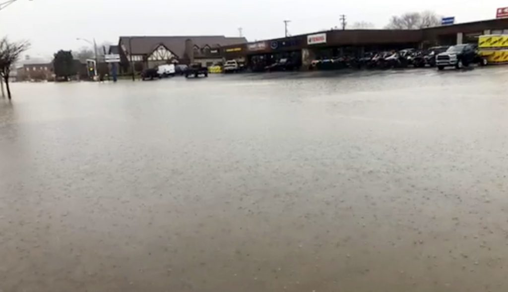 flooding in Middlesboro, Ky.