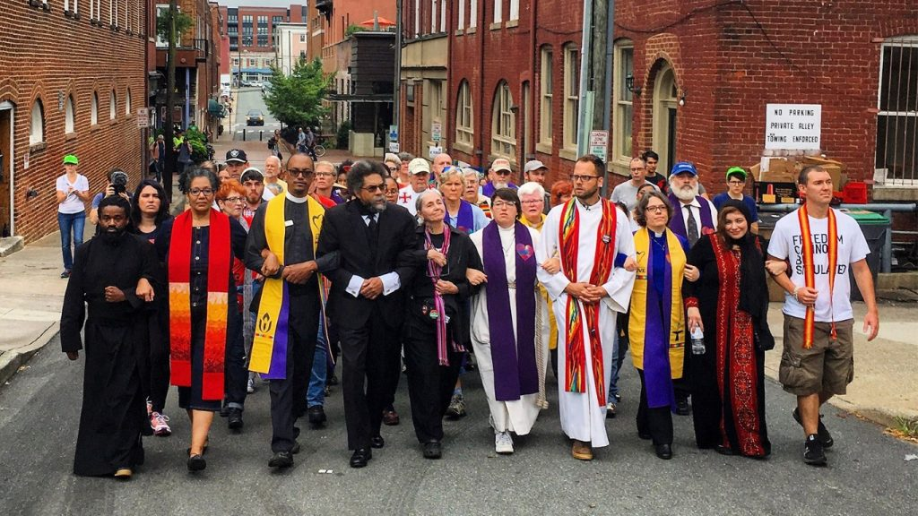 Clergy and faith leaders in Charlottesville