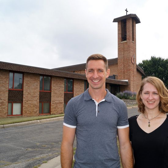 Rev. Jim Hein and Rev. Sara Hein
