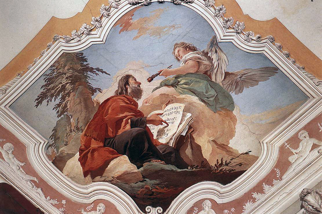 fresco of the prophet Isaiah