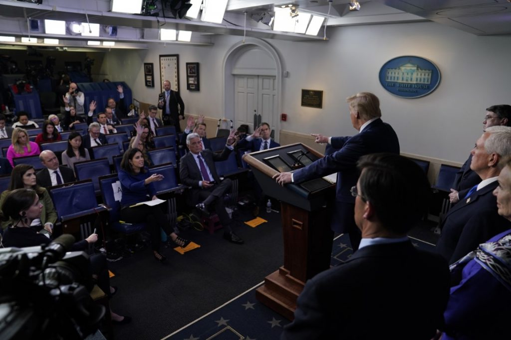 Trump news conference