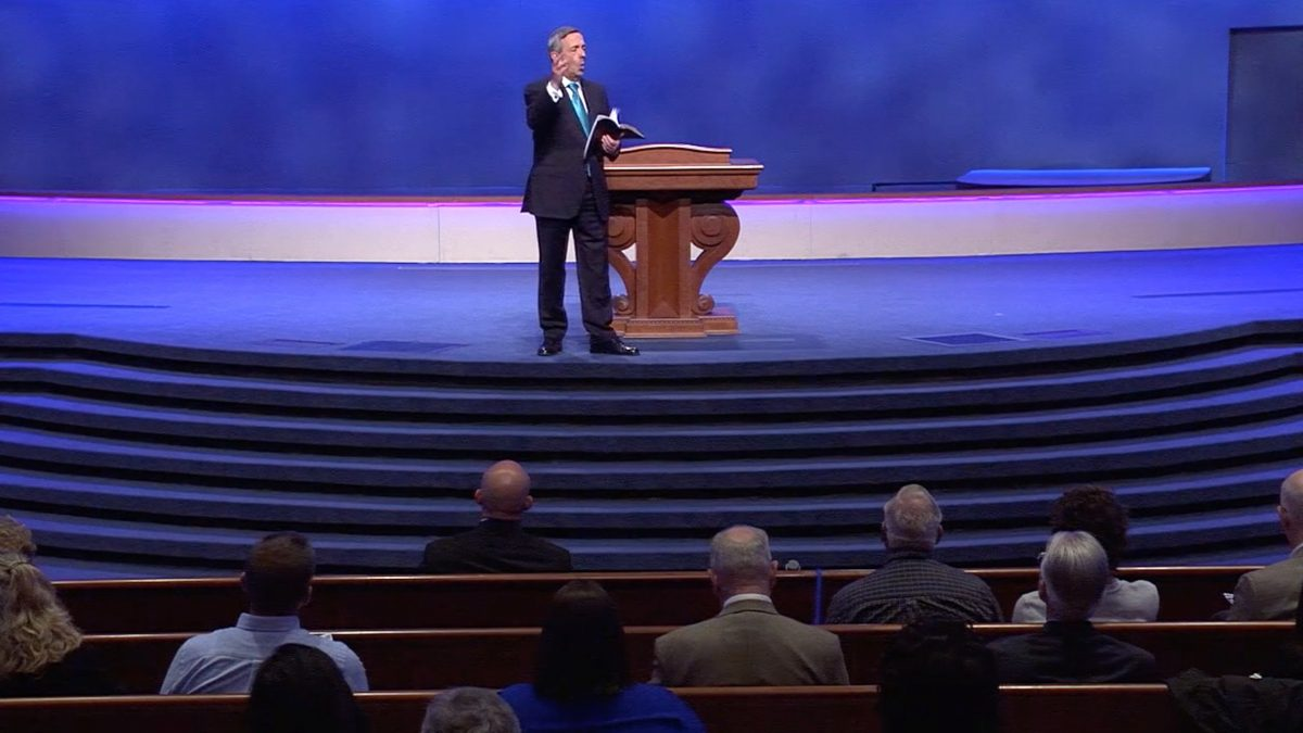 Robert Jeffress preaches