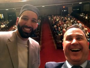 Omar Suleiman and Andy Stoke