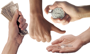 hands and payments