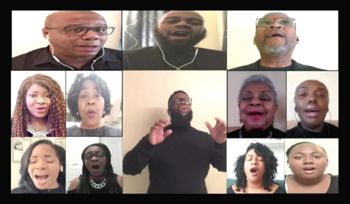 virtual choir of Grace Baptist Church