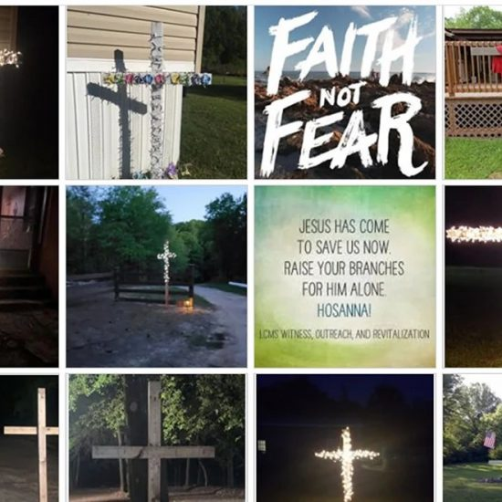 Faith Not Fear crosses