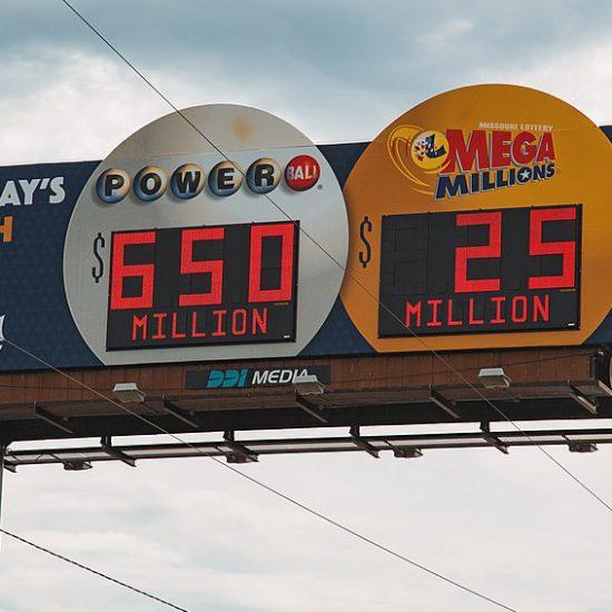 billboard for lottery