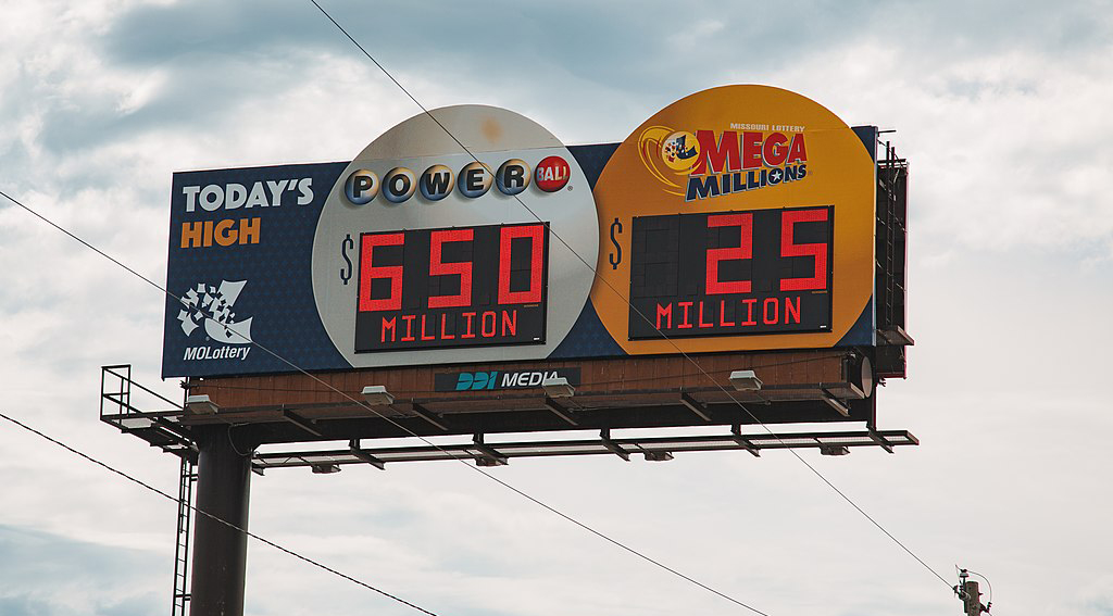 billboard for lottery