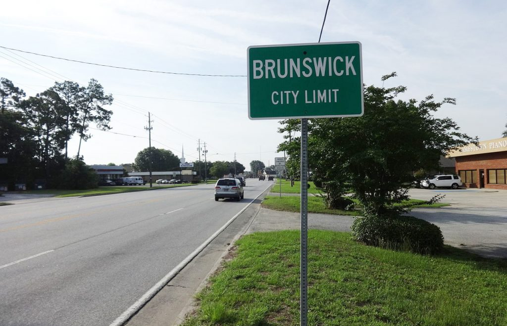 Brunswick city limits