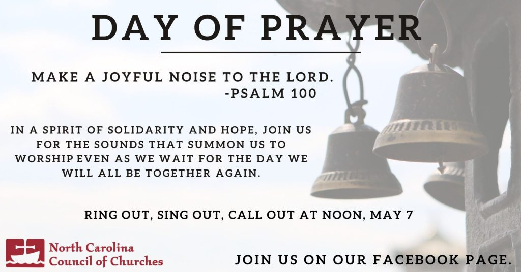 NC Day of Prayer promotion