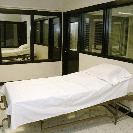 Missouri execution chamber