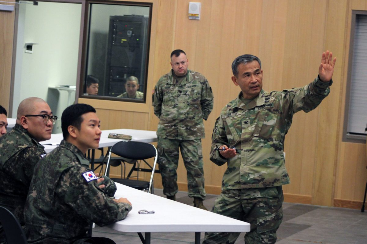 Col. Moon H. Kim, Camp Humphreys garrison