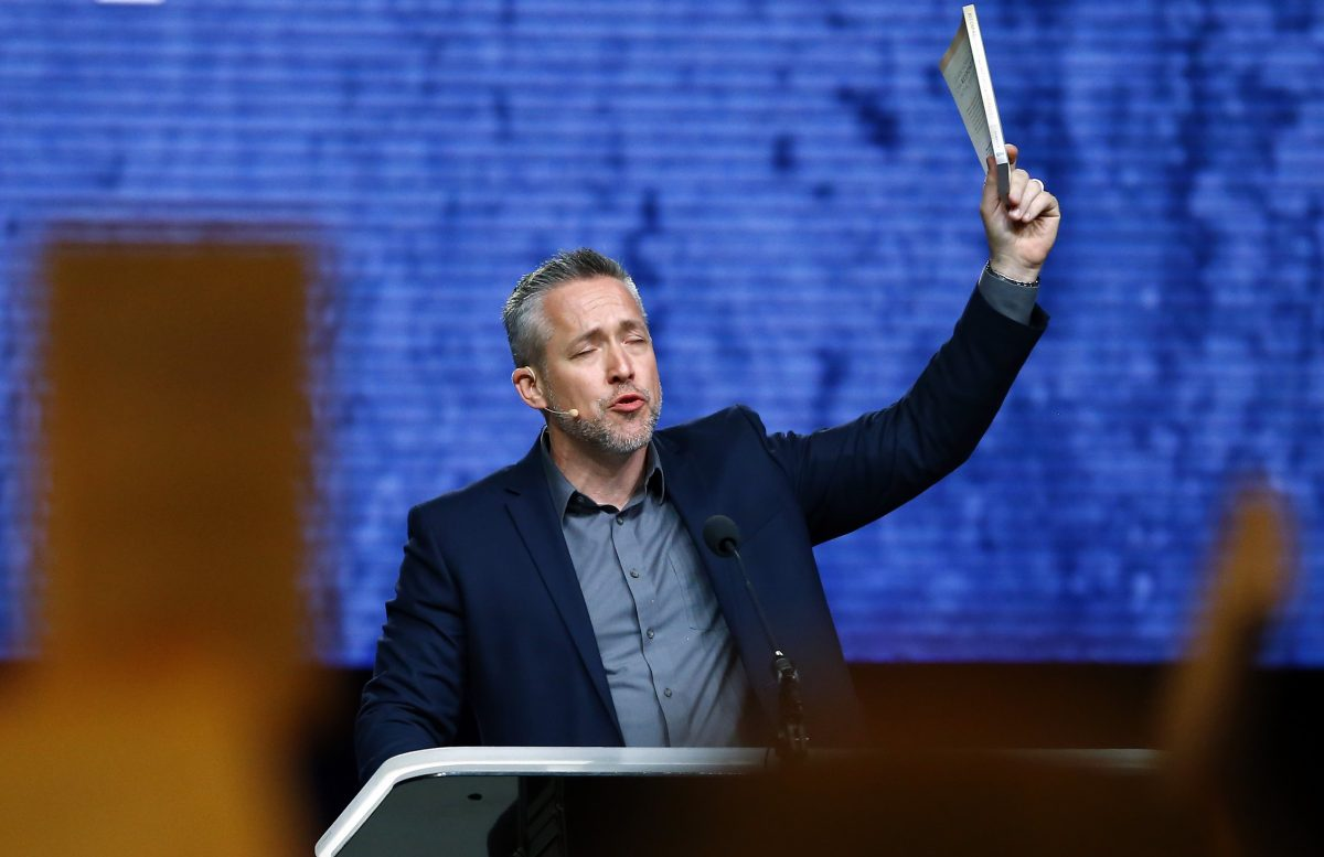 J..D. Greear at 2019 SBC Annual Meeting